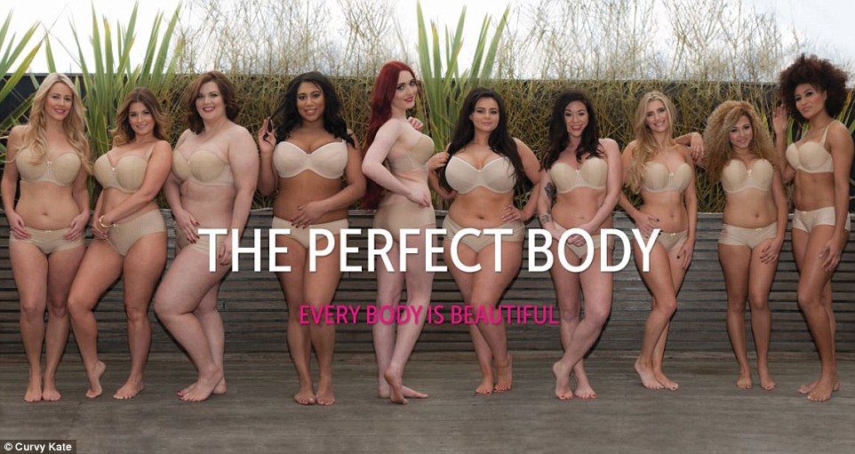 The perfect body? Comes in ALL shapes and sizes ...