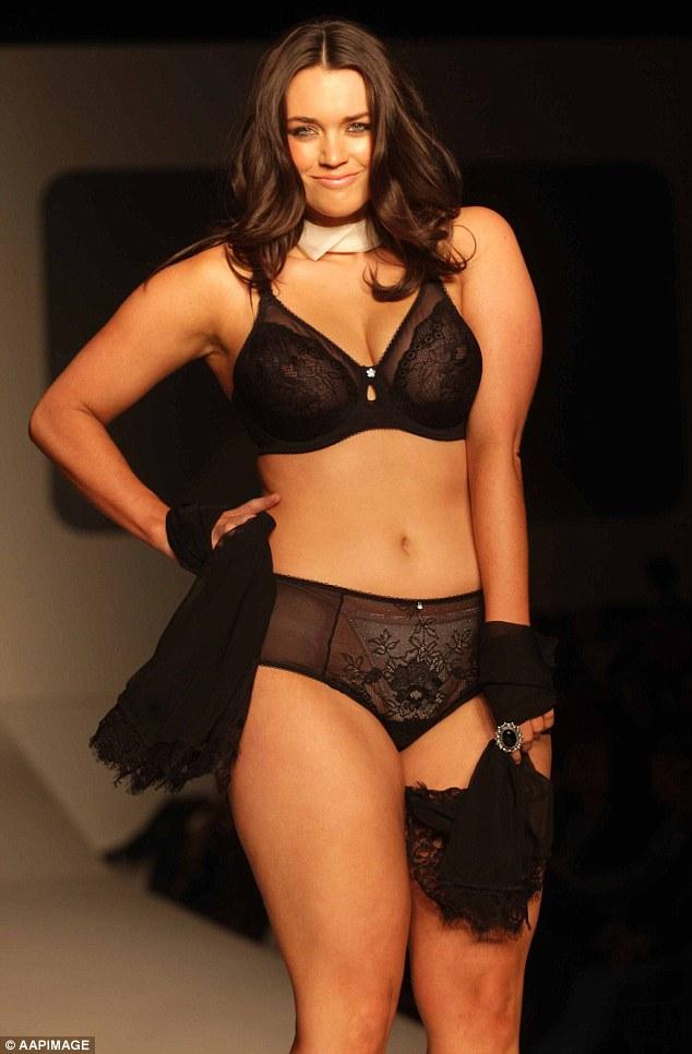 Plus-size model Laura Wells reveals shocking diet of her 'skinny ...