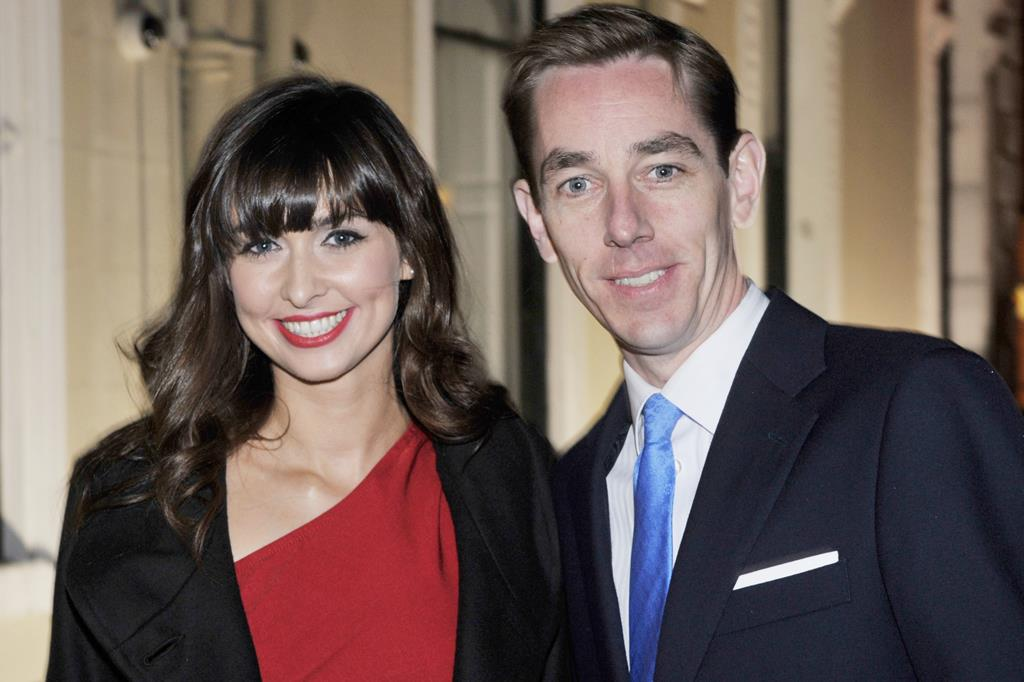 Ryan with ex girlfriend Mayo beauty Aoibhinn