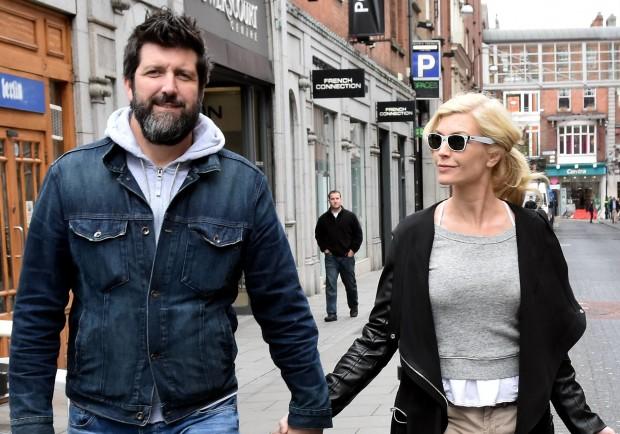 Yvonne and her boyfriend John Conroy Pic: Cathal Burke / VIPIRELAND.COM