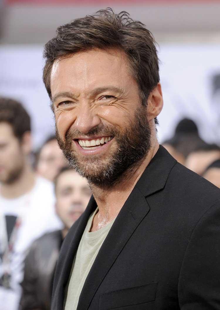 Miraculous 10 Celebs Better With A Beard Short Hairstyles Gunalazisus
