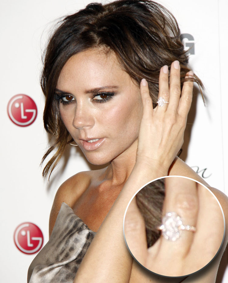 Genial Victoria Beckham Engagement Ring