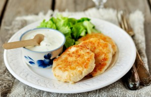 Wake up your taste buds with my crispy courgette fritters and a fresh yoghurt dip