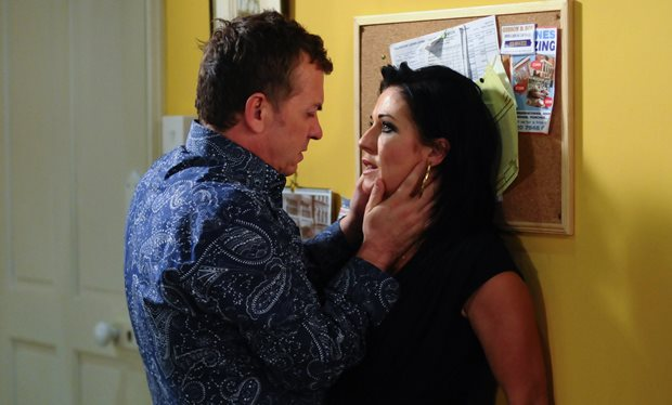 What the search will mean for kat and Alfie's relationship? Pic: BBC