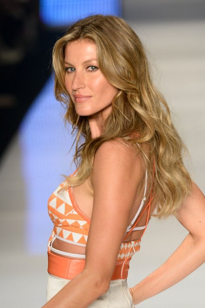 Want Gisele style waves? A sugar spray could be the answer. Pic: Getty