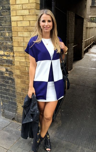 Vogue williams is in love with dawn oporter clothes label for Dawn o porter wedding dress