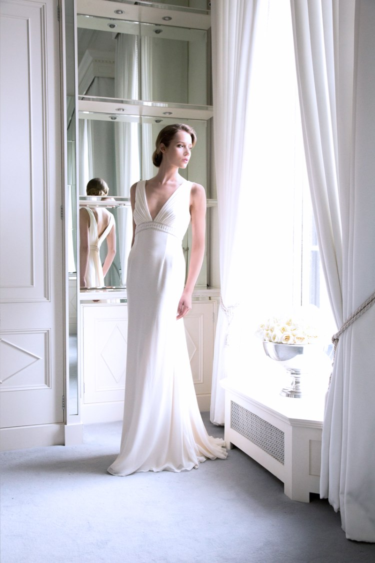 The louise kennedy bridal collection 2015 for Silk georgette wedding dress