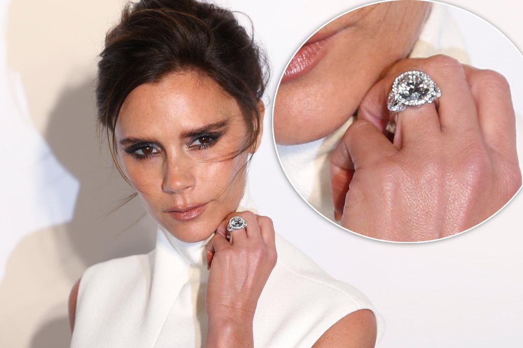 13 - Victoria Beckham Wedding Ring