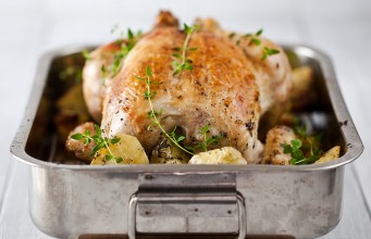 What could be better than a good ole roast chicken and seasonal Irish vegetables?