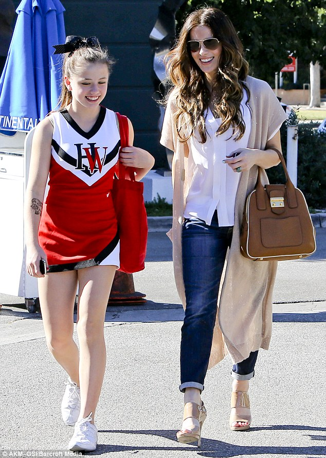 Kate Beckinsale And Lily Sheen Mini Me! Celebs...