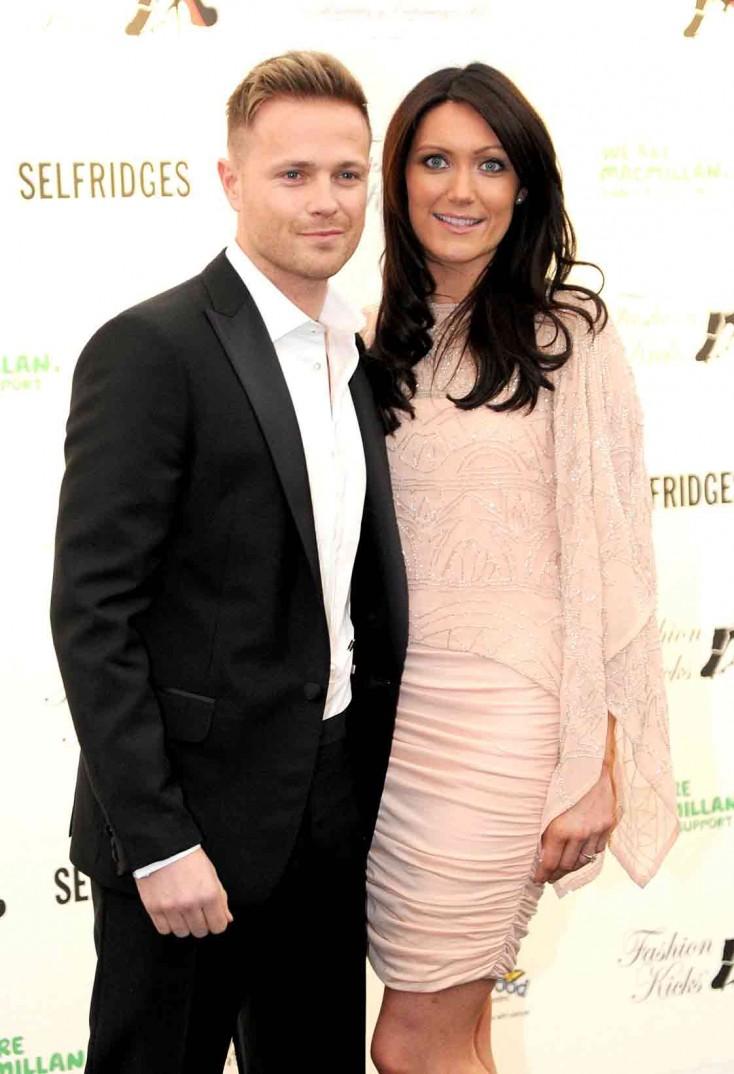 Nicky and Georgina make a stunning couple