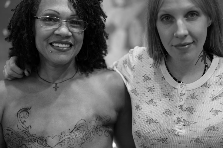 Image result for mastectomy scars black women