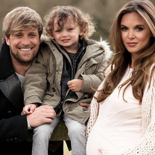 Kian and Jodi with son Koa