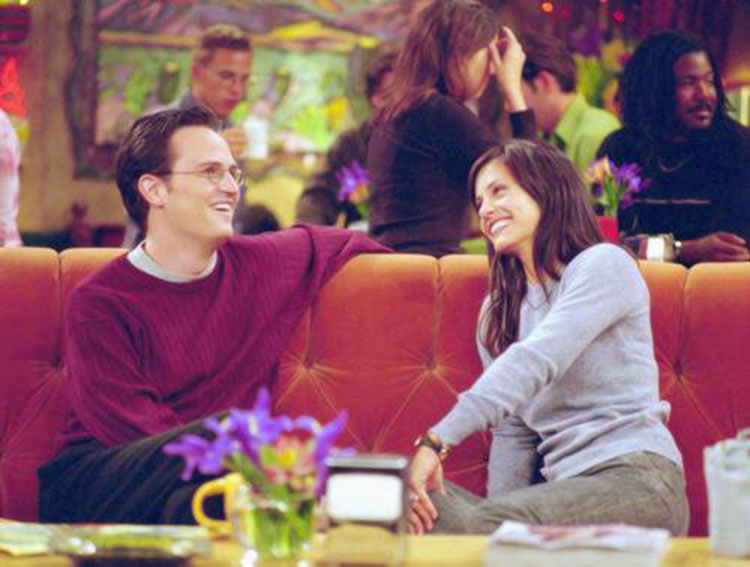 Monica and Chandler weren't actually supposed to get ...