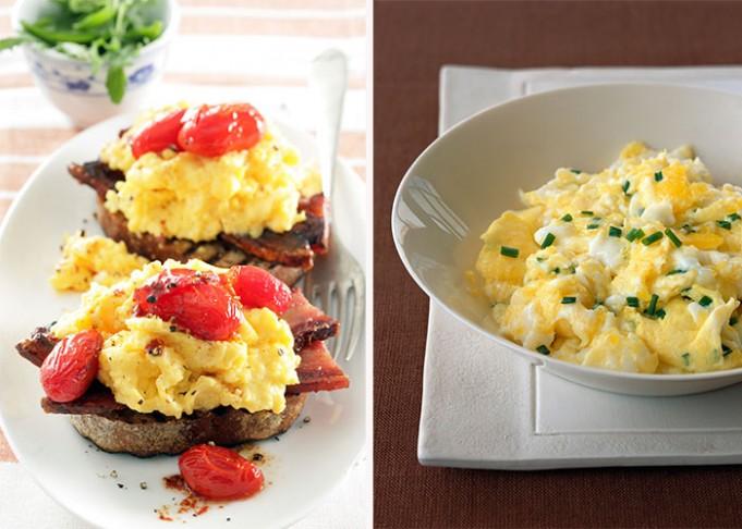 Creamy Scrambled Egg with Herbs