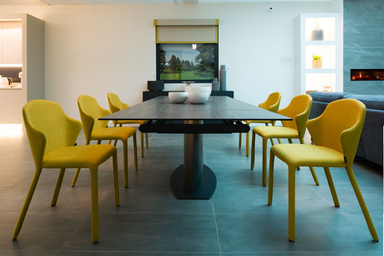 Pictured Discovery Dining Table EUR2859 And Opera Chairs EUR369 Harvey Norman