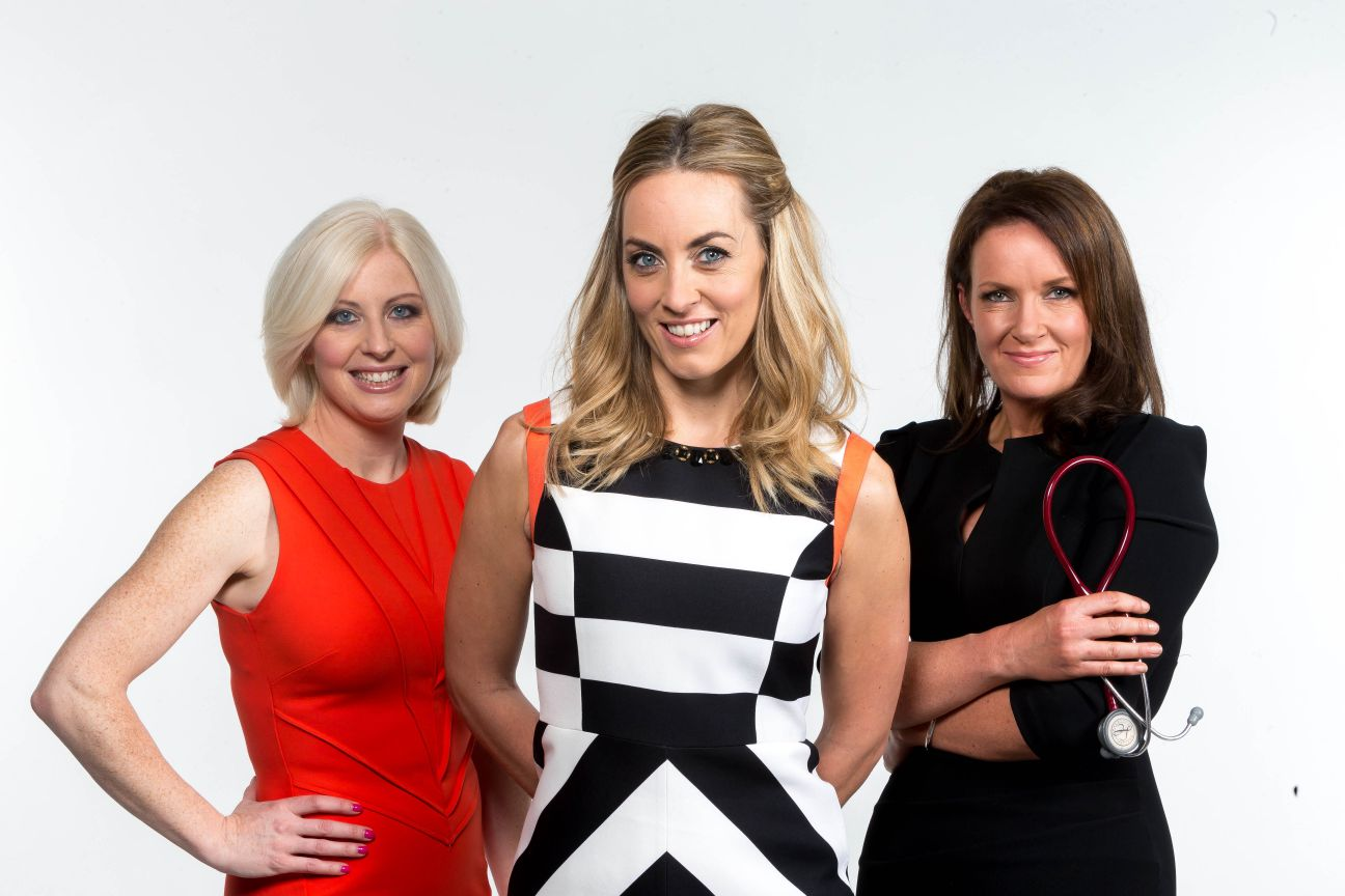 Television Programme: Operation Transformation with Aoife Hearne, presenter Kathryn Thomas and Dr. Ciara Kelly. Series 8 Airing January and February 2015