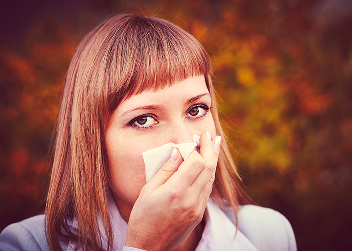 You may get a lot more coughs and colds if you smoke