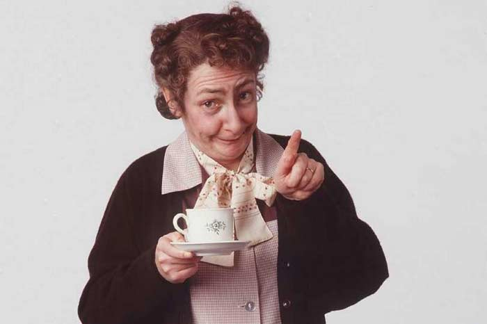 Pauline as Father Ted's Mrs Doyle Pic:Channel4