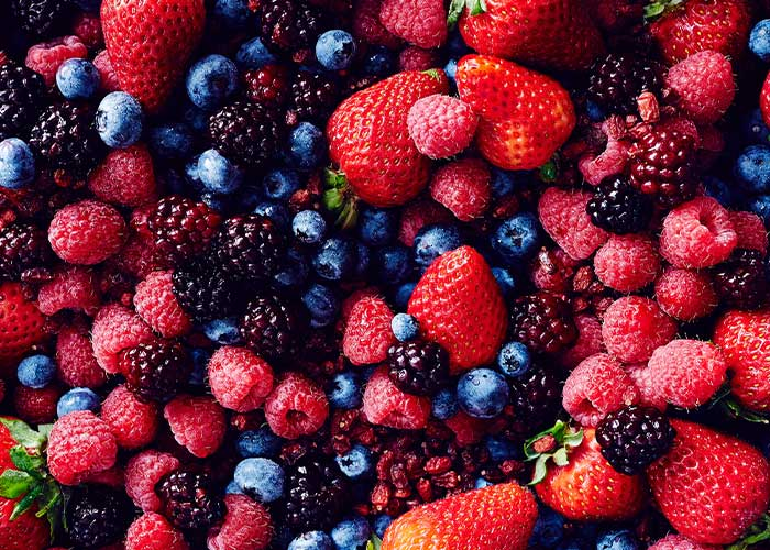 Berries are good for you Pic: File