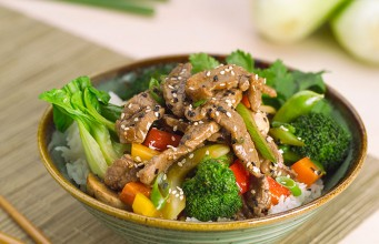Broccoli and Beef Stir-Fry
