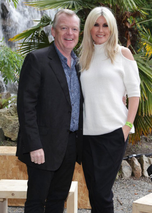 Lisa Fitzpatrick with her hotelier husband Paul