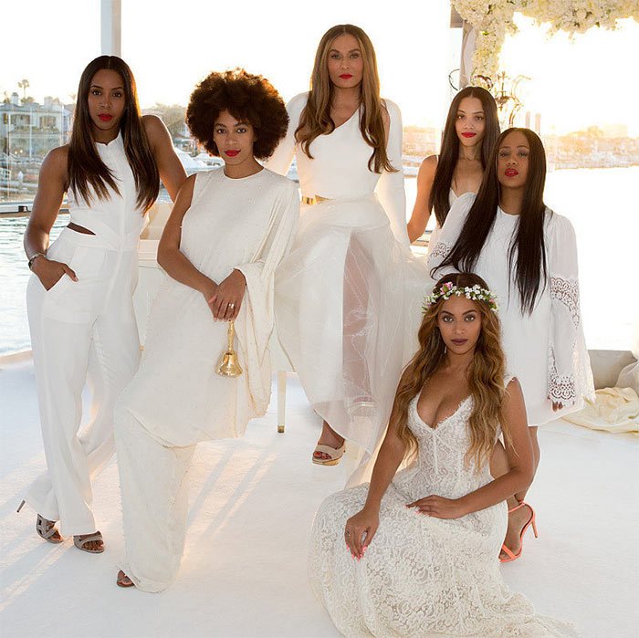 Beyonce Was A Stunning Bridesmaid For Her Sister Solange