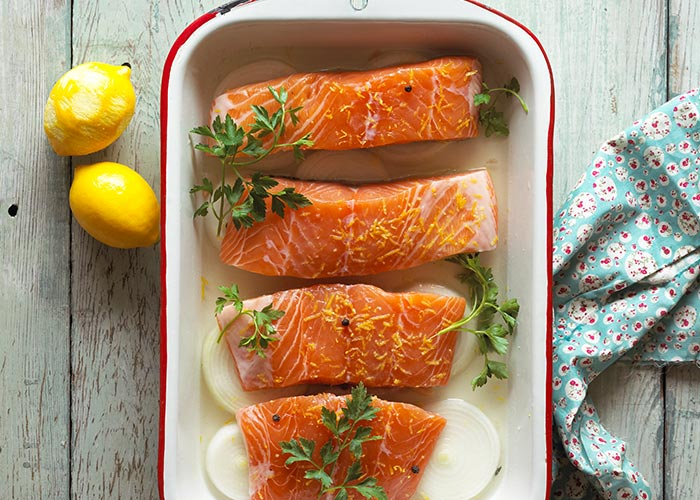 Wild Irish Salmon