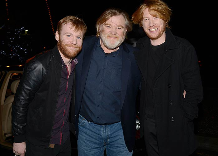 Domhnall, son of Brendan Gleeson will surpass Pearse Brosnan and