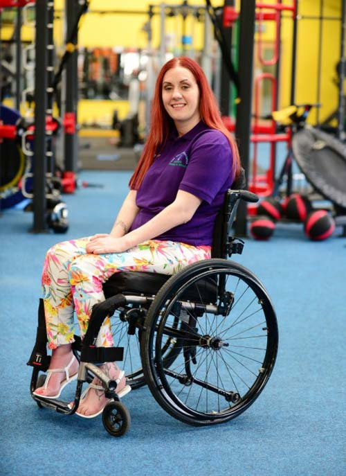 Young irish mum left disabled by bouncy castle accident