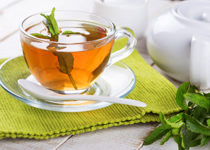 Herbal tea is great for digestion Pic: Alamy