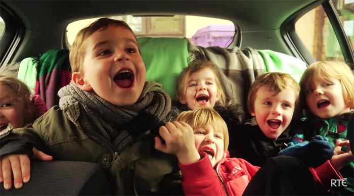 Fights in the car on the way home - no holiday would be complete without one