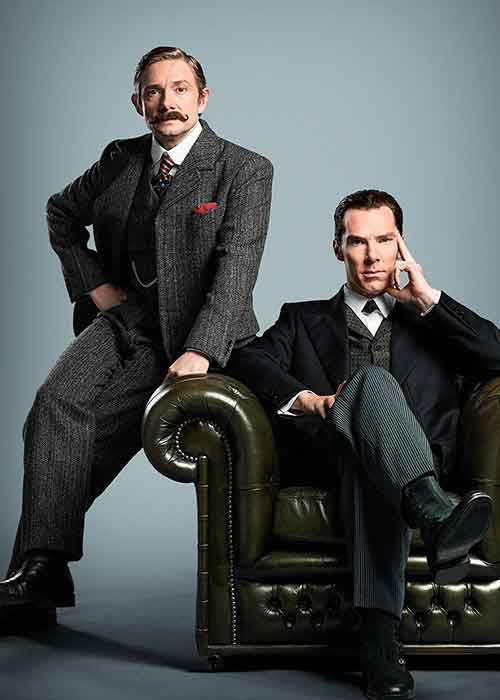 Watching Sherlock makes you more attractive.