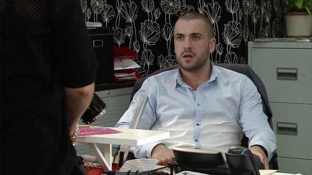 Shayne is reportedly mortified. Pic: ITV