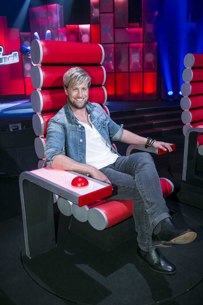 Kian Egan is a coach on The Voice of Ireland