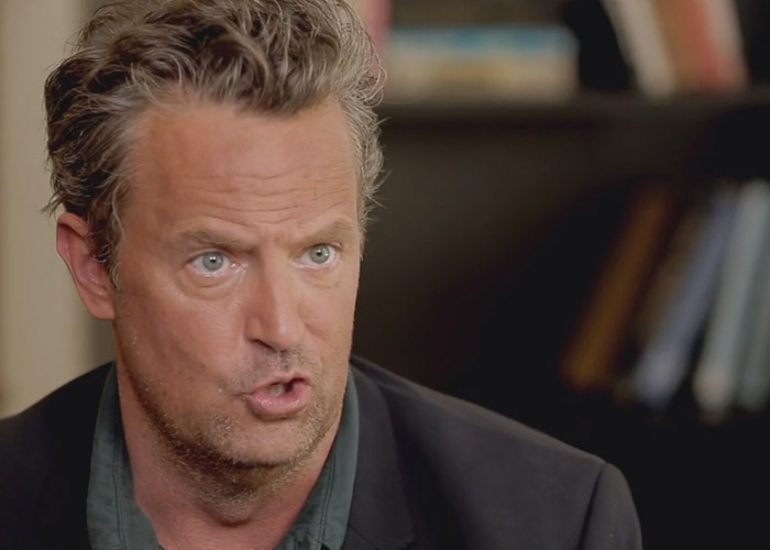 Matthew Perry opening up about his drug addiction recently