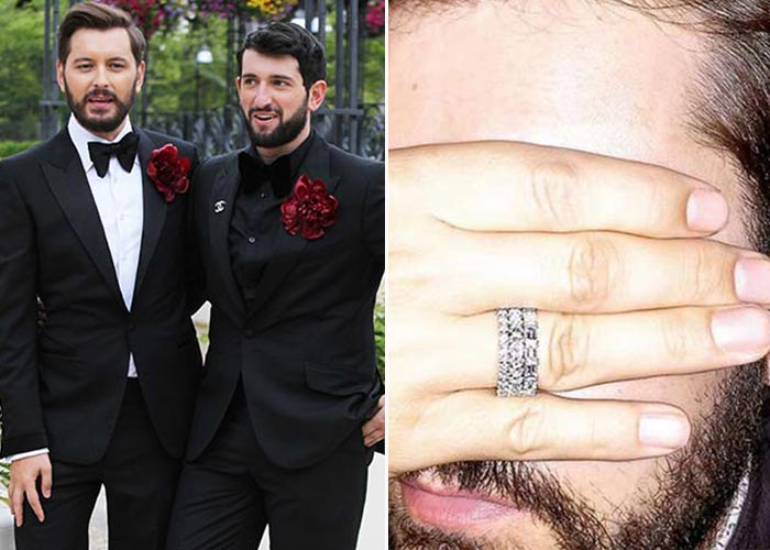 Celebrity Men Wedding Ring