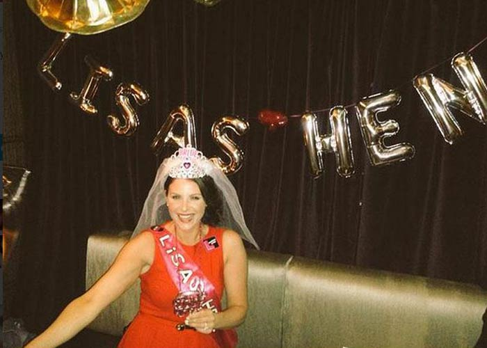 Lisa Cannon Hen Party Gets Countdown Going