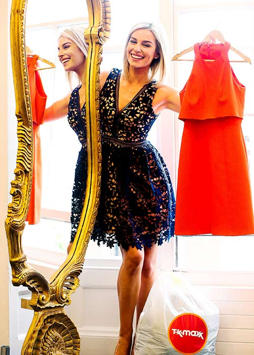 Pippa o connor model wardrobe is the envy of many for Tk maxx dresses for weddings