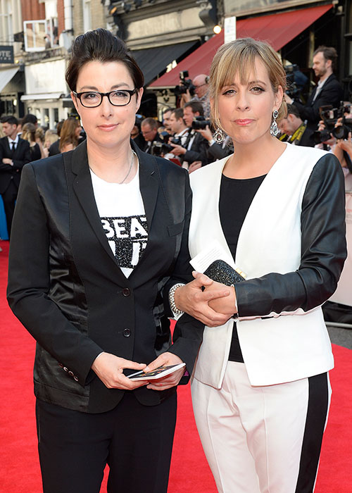 Sue and her GBBO co-host, Mel.