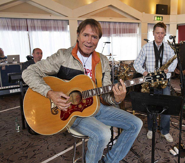 Sir Cliff's career spans more than 50 years