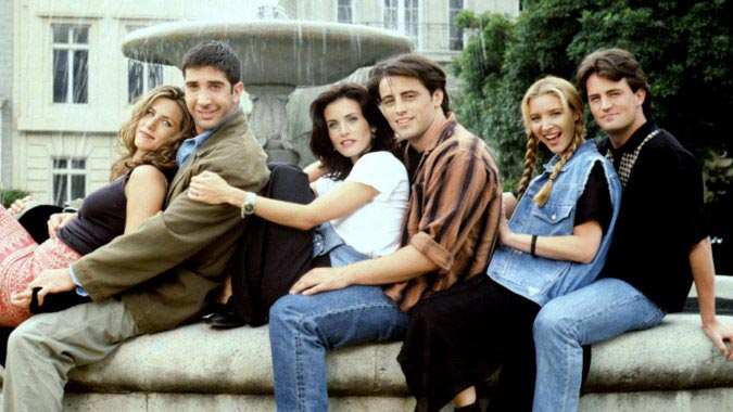 Hard to believe it's 21 years since the first episode of Friends aired!