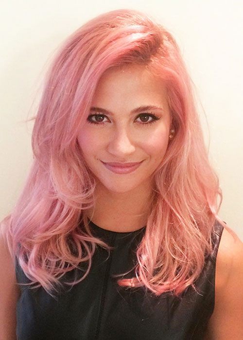 Latest Hair Colour Trend Celebrities Go Pink As