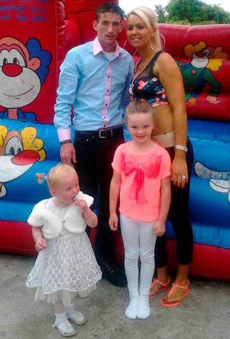 Tara Gilbert & Willy Lynch's and daughters Jodie and Kelsey who all died in the fire in Carrickmines halting site