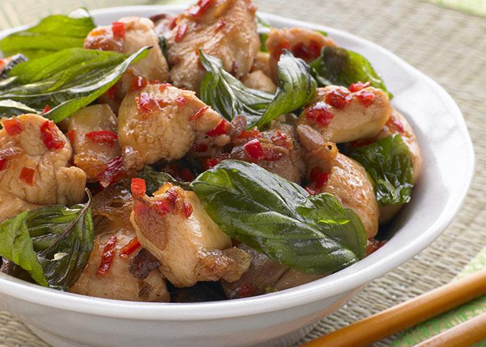Crispy Chicken with Sweet Chilli Sauce