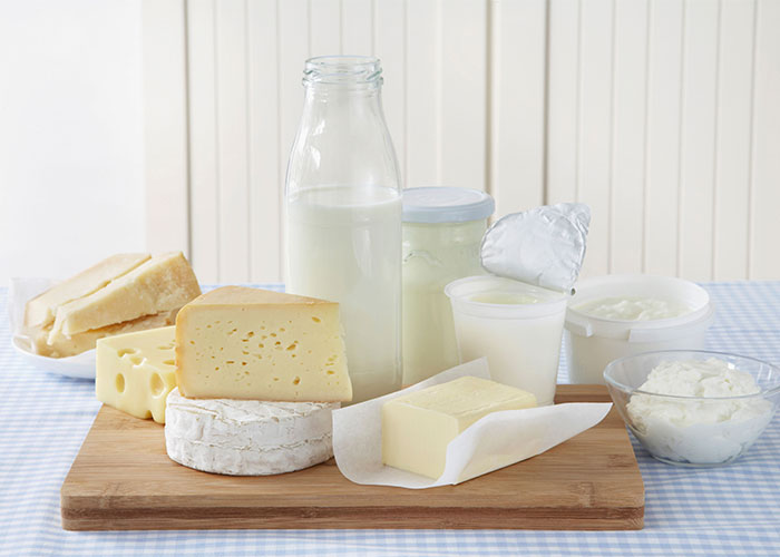 Foods for a Healthy Smile, Dairy