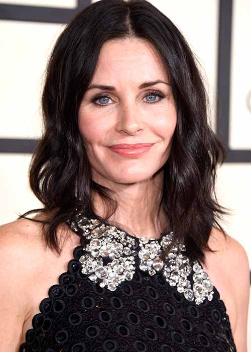 Courtney Cox has also received Botox injections in her forehead