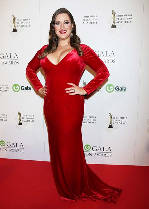 Elaine at last year's IFTAs
