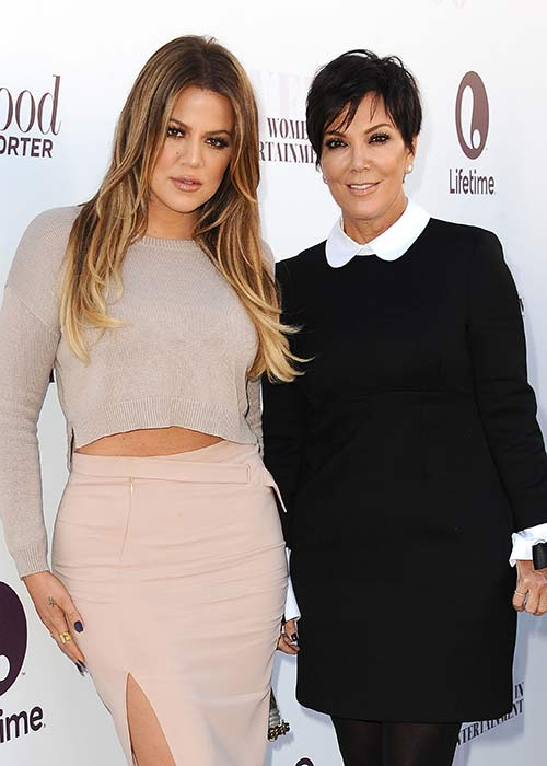 Kris and Khloé have previously denied the claims in the past. Pic: File