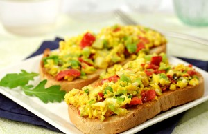 Scrambled Eggs with Peppers